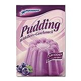 5er Pack Komet Pudding Heidelbeer-Geschmack zum Kochen Puddingpulver Dessert Puddingdessert