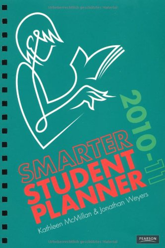 Smarter Student Planner 2010-2011 - 2010 Planner