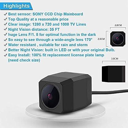 Navinio-Super-Pro-HD-Auto-Kamera-Rckfahrkamera-fr-BMW-118-316-318-320-325-328Li-120i-335-320i-330i-335-520-523-530-X1-X5-X6-E39-E46-E53-E82-E88-E90-E91-E92-E93-E60-E61-E70-E71-E72Model-A11040mm