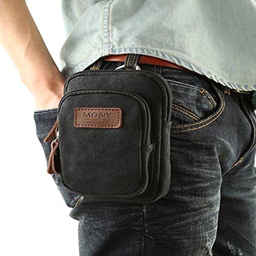 Laat sacchetto di viaggio sacchetto di bagaglio borsa a mano alla moda Tempo libero Borsa a spalla per uomini, nero nero