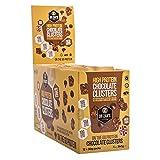Dr Zak's Protein Clusters Eiweiß Puffreis Snack, 12 x 30g, Geschmack:Chocolate