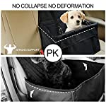 Aandyou Pet Car Booster Seat Breathable Waterproof Pet Dog Car Supplies Travel Pet Car Carrier Bag Seat Protector Cover… 13