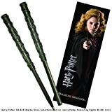 Harry Potter: Ensemble stylo et marque-pages Hermione.