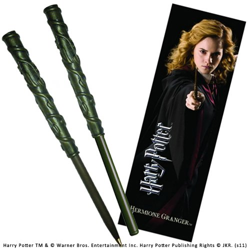 Imagen principal de Noble Collection Harry Potter: Hermione Pen and Bookmark Set.
