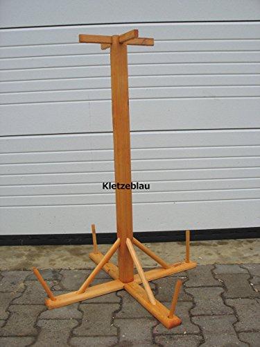 Stabiler universal Vogelhausständer mit Bohrung für Bodenanker / Stecksystem