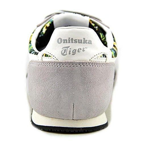 Onitsuka Tiger by Asics Serrano Daim Baskets Soft Grey-Slight White