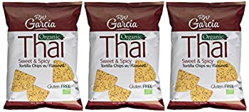 R W Garcia Thai Sweet & Spicy Organic Tortilla Chips With Flaxseed, 200g 6