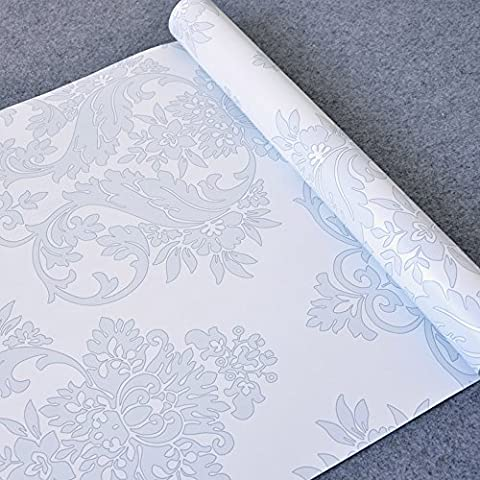 LoveFaye Grey Floral Contact Paper Self Adhesive Shelf Liner Dresser