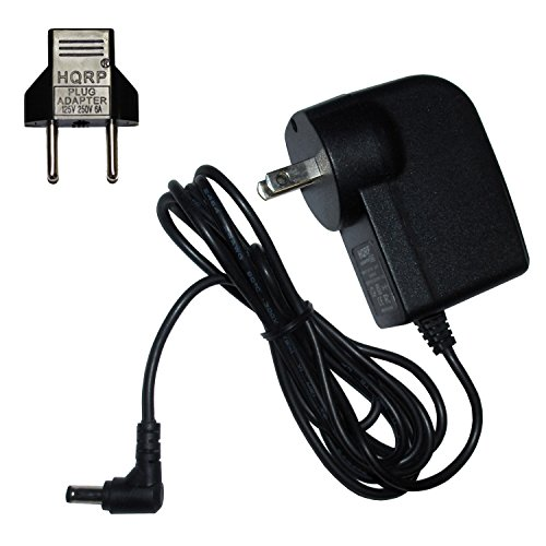 HQRP AC Netzadapter/Netzkabel für Brother P-Touch AD-20 AD20 AD-30 AD30; PT-6, PT-8, PT-10 Labeling System/Etikettendrucker
