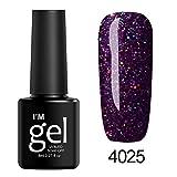 Berrose Star Nagelpolitur Nail Shining UV Gel Polish tränken Art Topcoat Lack Infinite Shine Glitzer