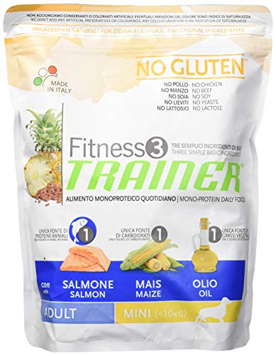 TR. Fit.3 Adult Mini Salmon & Maize No Gluten Gr 800