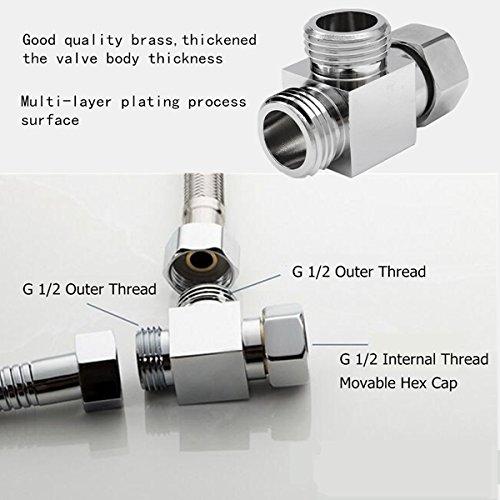 3 weg g 1\/2 messing- dusche diverter valve winkel valve t-adapter