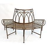 2 teiliger zaun zaunelement gartenzaun metall l202cm garten. Black Bedroom Furniture Sets. Home Design Ideas