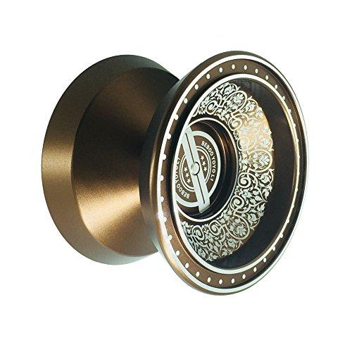 Goolsky BEBOO YOYO Professionnel Magique Yoyo Haute Vitesse Poli en Alliage D'aluminium CNC Tour Responsive De Bonne Qualité Yo-yo Roulement à Billes avec Filature Spinning
