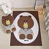 YLZT Baby-Krabbeldecke Baby-Spielmatte Activity Gym Centers Animal Design für Mädchen und Jungen...