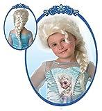 Die Eiskönigin Kinder Perücke mit Glitzer Prinzessin Elsa