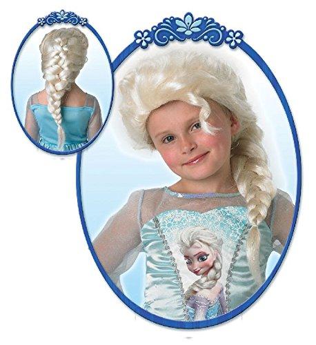 Die Eiskönigin Kinder Perücke mit Glitzer Prinzessin (Für Perücke Kinder Elsa)