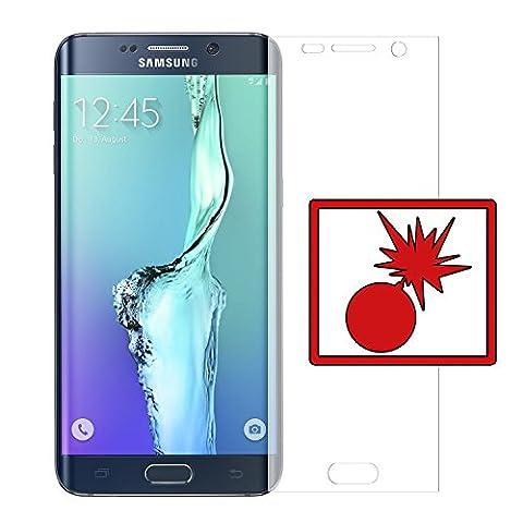 2 x Slabo Panzerschutzfolie Samsung Galaxy S6 Edge+ Panzerfolie Displayschutzfolie