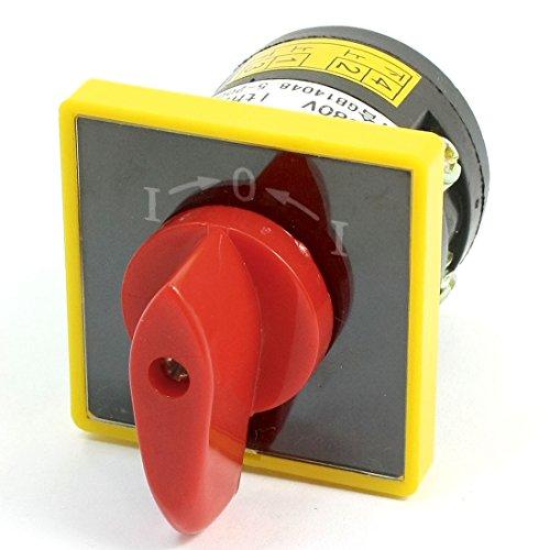 Platte Schalter Drei Abdeckung (AC 380V 10A 3Position 1Single Universal Rotary Cam Umschalter)