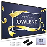 Best Portable Projection Screens - OWLENZ Portable Projection Screen 120 Inch 16:9 Simple Review