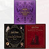 Jody Revenson Harry Potter Collection 3 Books Bundle (Harry Potter - The Creature Vault,Harry Potter: Magical Places from the Films,Harry Potter - The Character Vault)