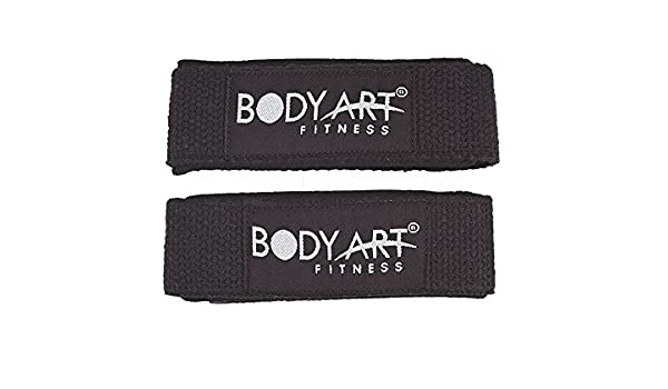 Body Art Fitness Cotton Lifting Straps Kh 111 Fitness Workout Gym Weight Lifting Body Art Fat Pull Up Amazon Co Uk Sports Outdoors