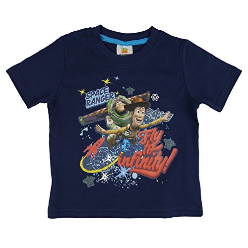 Disney Pixar Toy Story Kids Boys T-Shirt - Age 18 Months To 6 Years