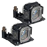 Powerwarehouse Hitachi CP-DX300 Lamp - Premium Powerwarehouse Replacement Lamp (QTY: 2pcs)