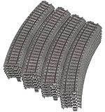 Märklin H0 24130 Gebogenes C-Gleis, 24 Stück