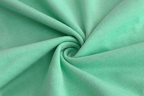 Sixcup -  Maglia a manica lunga  - Vestito - Donna Green