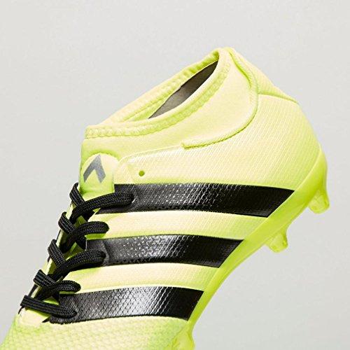 adidas Ace 16.3 Primemesh Fg/Ag J, Chaussures de Foot Garçon Jaune/Orange