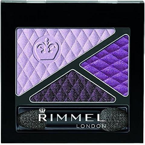 Rimmel Glam 'Eyes Trio Eye Shadow, Sumptuous Tourmaline, 0.15 Fluid Ounce by Rimmel