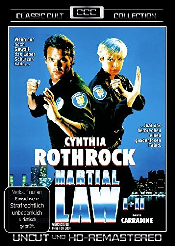 Martial Law 1+2 - Uncut und HD-Remastered [Limited Edition]