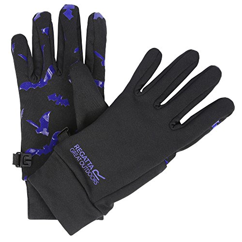 Regatta Grippy Gloves Kids Black/Surf Bat Handschuhgröße 128-140 2017 Handschuhe
