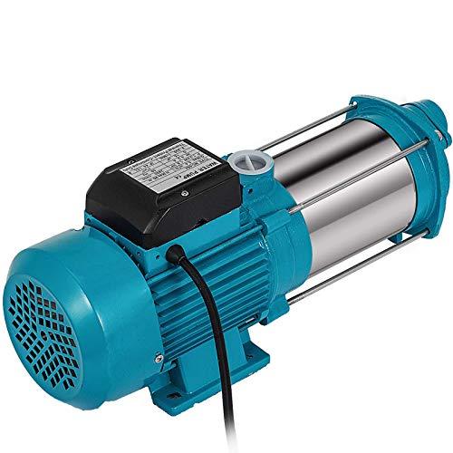 Moracle MC-6SA Kreiselpumpe 230V / 50-60Hz Kreiselpumpe Selbstansaugend Elektrisch Für Gartenhauskreiselpumpe