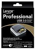 Lexar LRW300URBEU Professional Dual-Slot externer UDMA-Kartenleser USB 3.0