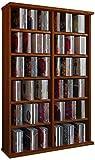 VCM 50444 Regal Schrank DVD CD Rack Medienregal Medienschrank Aufbewahrung Holzregal Standregal Möbel in 6 Farben Ronul