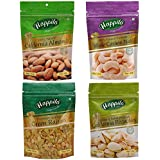 Happilo Premium Dry Fruits, 850g (California Almonds, Raisins, Whole Cashews, Roasted Pistachios)