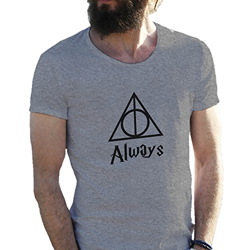 always-triangle-harry-potter-artwork-gris-camiseta-para-hombre-medium