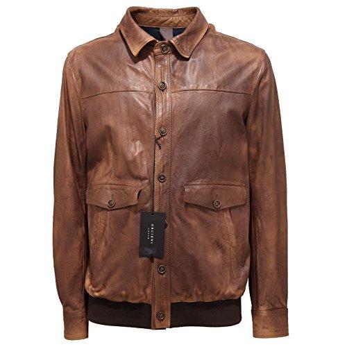 2902O giubbotto ORCIANI COVER marrone giubbotti uomo jackets men [54]