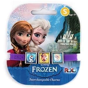 Elsa, Anna, et Olaf Disney Frozen interchangeables Charms Bracelet [Jouet]
