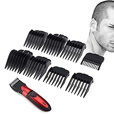 8Pcs Universal Hair Clipper Limit Comb Guide Attachment Size Barber Replacement from Autone