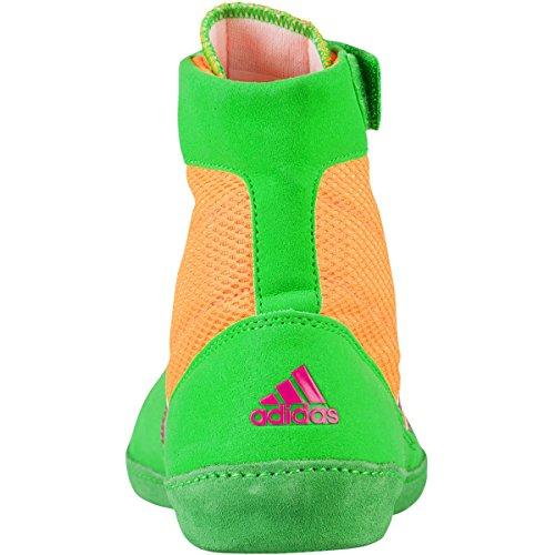 Adidas Zx Flux tessuto Formato dei pattini 13 Solar Yellow-Metalic Pink-Solar Lime