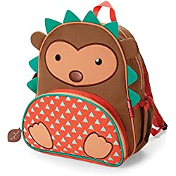 Skip Hop Zoo Mochila, Brown Hedgehog, 3 Años Plus Color: Marrón erizo