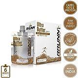 Unived RRUNN Ultra Butter, Portable Energy Peanut Butter & Cashew Butter Squeeze Packs, 12 Servings Pack