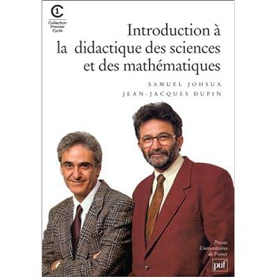 Introduction A La Didactique Des Sciences Et Des Mathematiques Pdf Download Neojoseph