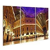 Bild Bilder auf Leinwand Galleria Vittorio Emanuele