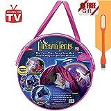 Traumzelt Bettzelt Dream Tent Traumzelt kinderbett Drinnen Kinder Spielen Zelt Geschenke für Kinder