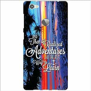 Letv LE 1s Back Cover - Adventure Designer Cases