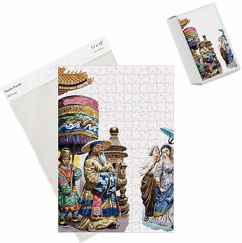 photo-jigsaw-puzzle-of-eastern-figures-with-a-parasol-and-canopy-gouache-on-paper